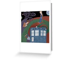 Meeting in the Colors Greeting Card