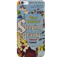 sleeping beauty movie poster iPhone Case/Skin
