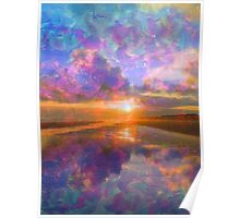 Colorful Sunset by Jan Marvin Poster