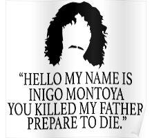 Inigo Montoya - Princess Bride Poster