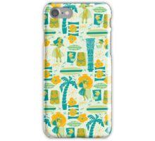 Mid-Century Tiki iPhone Case/Skin