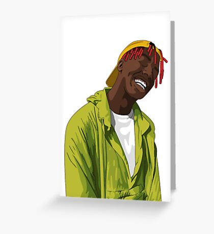 Lil Yachty. Greeting Card