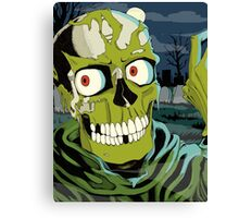 80s Halloween Canvas Print