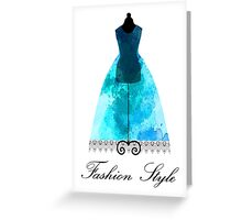 Fashion Style  Greeting Card
