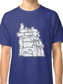 Bun Pile - Black and White Classic T-Shirt
