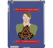 The City Correspondent iPad Case/Skin