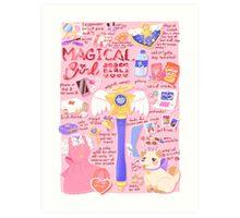 Magical Girl Essentials! Art Print