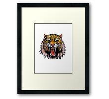 Tekken - Heihachi Tiger Framed Print