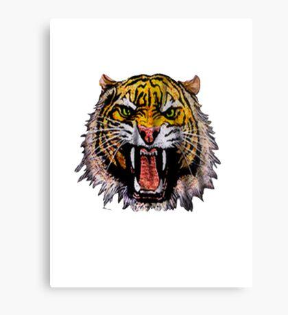 Tekken - Heihachi Tiger Canvas Print