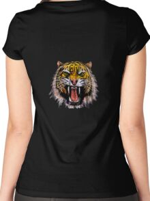 Tekken - Heihachi Tiger Women's Fitted Scoop T-Shirt