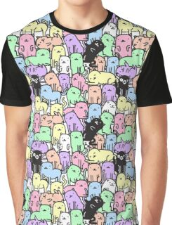 Rainbow Kitties Graphic T-Shirt