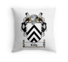 Cody (Archdeacon) Throw Pillow