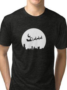 Stunt Santa Tri-blend T-Shirt
