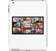 Grand Theft Auto Online - ArtWork Squares iPad Case/Skin