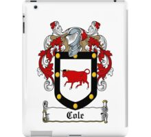 Cole (Fermanagh) iPad Case/Skin