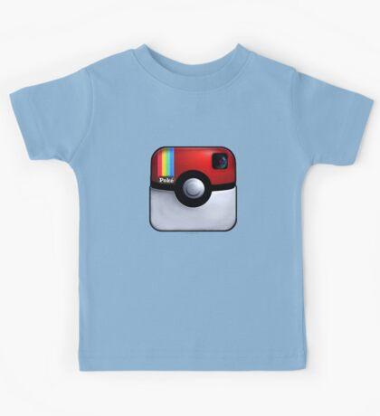 Pokegram - An Instagram & Pokemon Mash App Kids Tee