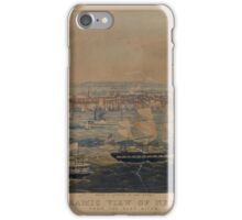 426 Panoramic view of New York from the East River iPhone Case/Skin