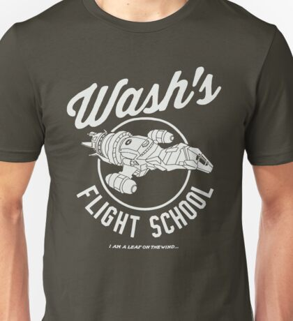 Firefly Wash's Flight School Unisex T-Shirt