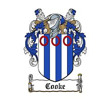 Cooke (Chancellor-Exchequer Ireland) by HaroldHeraldry