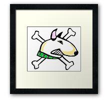 Sofie the English Bull Terrier Framed Print