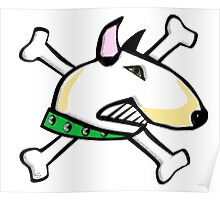 Sofie the English Bull Terrier Poster
