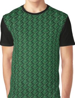 Dragon Scales (Green) Graphic T-Shirt