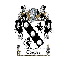 Cooper (1665) by HaroldHeraldry