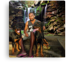 ๑۩۞۩๑ DEMIT AND HIS PRECIOUS DOGS  ๑۩۞۩๑ Canvas Print