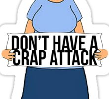 Crap Attack Sticker