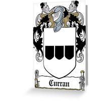 Curran Greeting Card