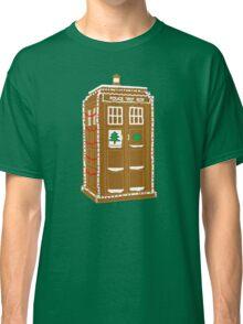 Gingerbread Tardis Classic T-Shirt