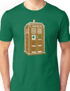 Gingerbread Tardis Unisex T-Shirt
