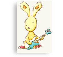 Funky Rabbit Canvas Print