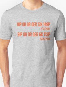 Freak No Hitter 2: The Freak-quel (Orange) Unisex T-Shirt
