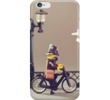 Police bike Patrol iPhone Case/Skin