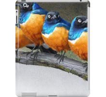 meet the snarkers- the original angry birds iPad Case/Skin