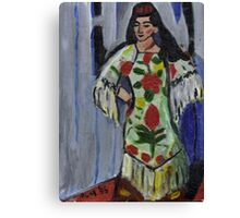 Gypsy Dancer(After Matisse) Canvas Print