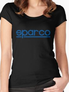 sparco wheels Women's Fitted Scoop T-Shirt