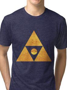 Triforce nintendo Tri-blend T-Shirt
