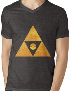 Triforce nintendo Mens V-Neck T-Shirt