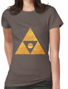 Triforce nintendo Womens Fitted T-Shirt