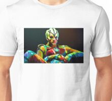 Jaylah is a bright and colourful lady Unisex T-Shirt