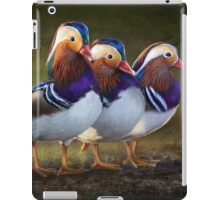 four brothers mandarin ducks iPad Case/Skin