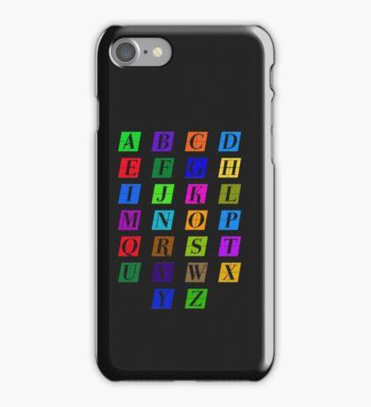 ABC Colorido iPhone Case/Skin