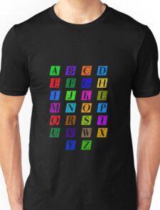 ABC Colorido Unisex T-Shirt