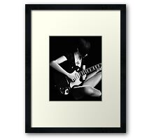 sing a song today Framed Print