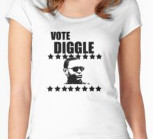 Vote Diggle Women's Fitted Scoop T-Shirt