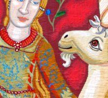 Lady & The Unicorn (La Vue) Sticker