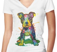 Labrador Retriever Women's Fitted V-Neck T-Shirt
