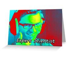 Expert Scientist Greeting Card